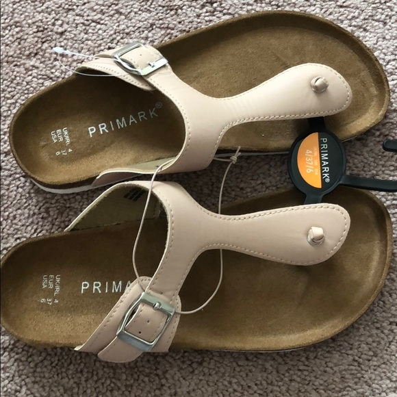 official images new release reasonably priced Primark women's 6 6.5 sandals slide on flat new